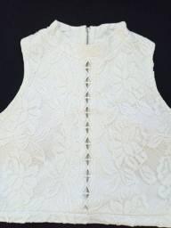 Cropped Feminino Branco