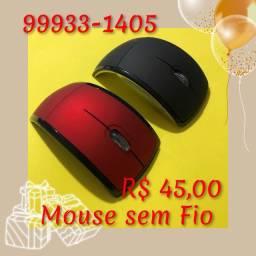 Mouse Optico Sem Fio - Lindo .