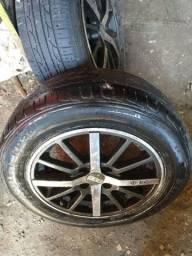 Rodas e pneus novos