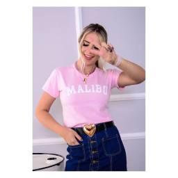 T-shirt blogueira rosa