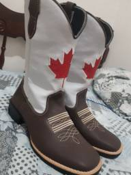 Bota bandeira do Canadá (NOVA)
