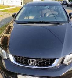 Honda Civic Sedan LXR 2.0 Flexone 16V Aut. 4P Preto