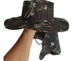 Chapéu clamufado, não seja castigado pelo sol