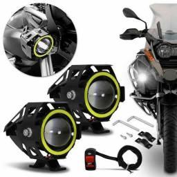 Farol de Led Moto U7 Universal