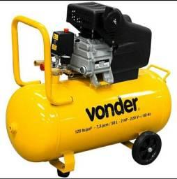 Compressor Vonder 50L novo