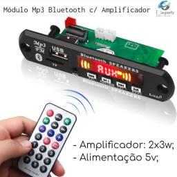 Módulo Mp3 Bluetooth com Amplificador 5V