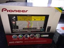 Central Multimídia Pioneer AVIC f80 tv com TV e gps integrado.