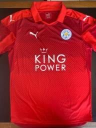Camisa Puma Leicester City Away 2017 G
