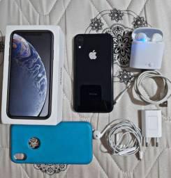 Iphone XR + Fone de ouvido bluetooth I7