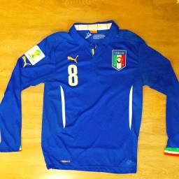 Camisa Itália oficial, copa mundo 2014!! Baixei pra vender!!