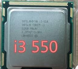 Processador Intel Core I3-550  De 2 Núcleos E 3.2ghz