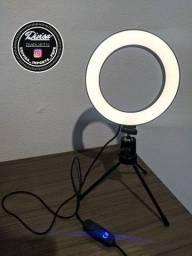 RING LIGHT COM TRIPÉ 16CM