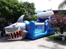 Vendo tobobã tubarão 3em1