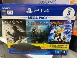 PlayStation 4 slim 1TB NOVO LACRADO