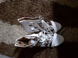 Sandália Branca N°36 (nova)