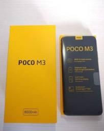 Xiaomi Pocophone M3 128GB de Rom/4GB de Ram, Tela de 6.53 Com Digital (NOVO)