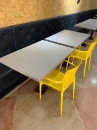 Mesa de restaurante em MDF FENDI