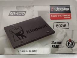 SSD Kingston 60GB nunca usado, ainda na caixa
