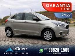 Ford KA 1.0 SE Flex 5p - 1 ANO DE GARANTIA - Completo - Único Dono - 2015