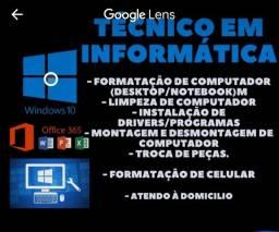 # Promoção limpeza+formatação 60,00