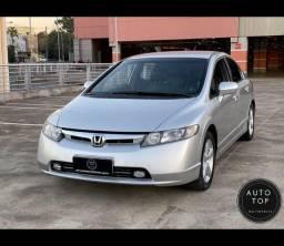 Civic LXS 1.8 2007 *top*couro**imperdível**financio em até 48x**lindo**