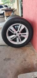 Título do anúncio: jogo de pneu+roda 205/60 R16