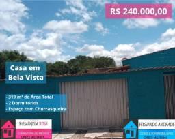 COD:757 Casa em São Sebastião da Bela Vista