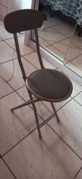 Cadeira básica de alumínio