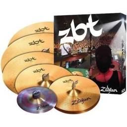 Set De Pratos Zildjian Zbt 390 Super Pack