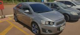 Chevrolet Sonic LTZ 1.6 Aut. Flex - Rodas 17 - Banco de Couro