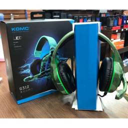 Headset Gamer Camuflado