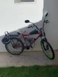 Bicicleta motorizada seminova