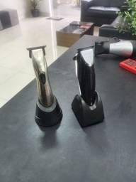 Maquina de acabamento whal detailer e slin line pro