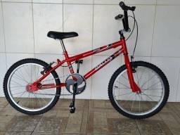 Bicicleta aro 20 reformada Cross