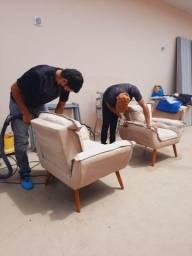 Higienização em Poltronas 9 9 1 7 9 0 7 6 4