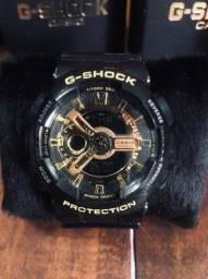Relogio G Shock Preto Ga 100