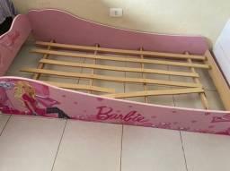 Cama Infantil Pura Magia Barbie Plus Rosa