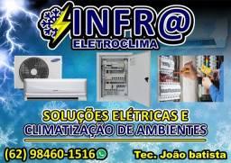 Serviços Elétricos e ar condicionado