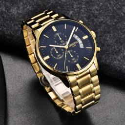 Relógio Nibosi Luxo! 3ATM Modelo Exclusivo