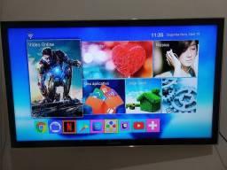 Tv Samsung 40 polegadas (não é smart, vai com tv box)