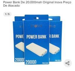 Bateria extra - Powerbank 20.000mha inova