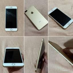 iPhone 7 Plus Apple 32GB Dourado 5,5? 12MP - iOS