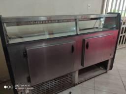 Expositor refrigerado de 2m x 60cm