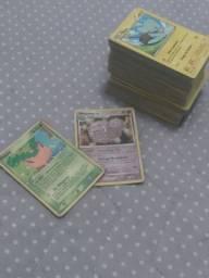 Bolo de cartas Pokemon+carta antiga