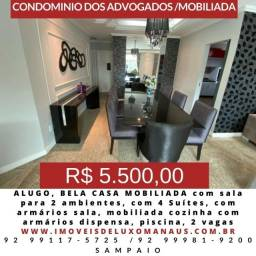 C.A.S.A Mobiliada, Dom pedro, ao lado Carrefour Ponta Negra, com piscina e churrasqueira