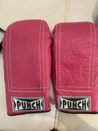 Luva boxe/mui tay punch nunca usada