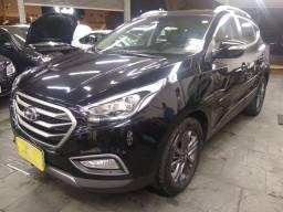 Título do anúncio: Hyundai IX35 GLS 2.0 16v Flex Autom Completo Couro DVD 2019 Preto