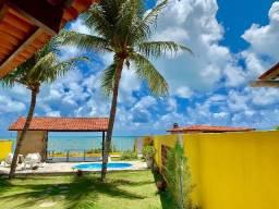 Aluga-se Casa Beira Mar na Praia de Carapibus - Conde - Paraíba
