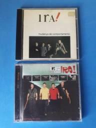 Coleção Rock Nacional Ira! - 2 CDs Usado