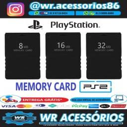 Título do anúncio: Memory Card para PS2 - Entrega Grátis